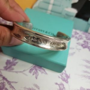 Tiffany & Co 1837 wide bangle